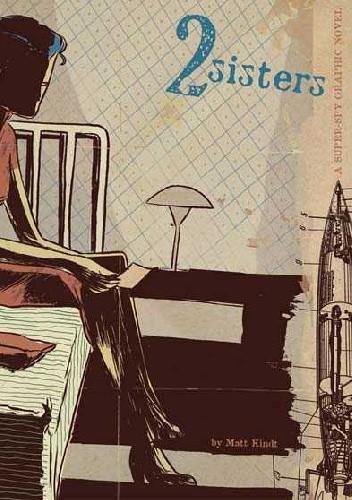 Okładka książki 2 Sisters - A Super-Spy Graphic Novel