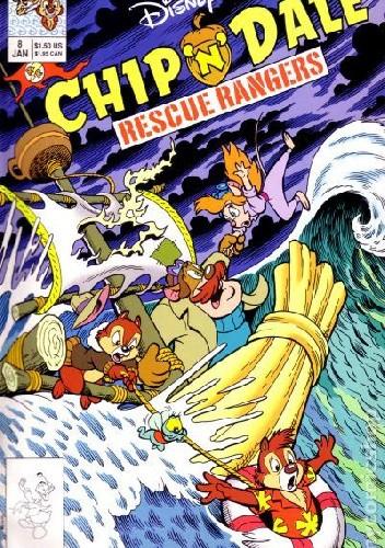 Okładka książki Chip'n'Dale Rescue Rangers #8