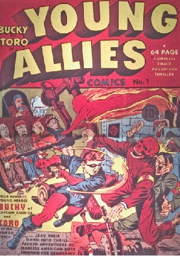Okładka książki Young Allies 1