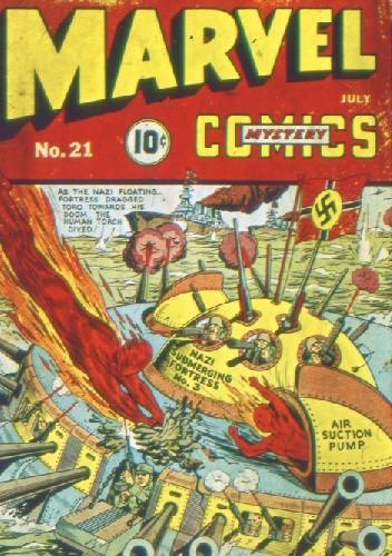 Okładka książki Marvel Mystery Comics 21