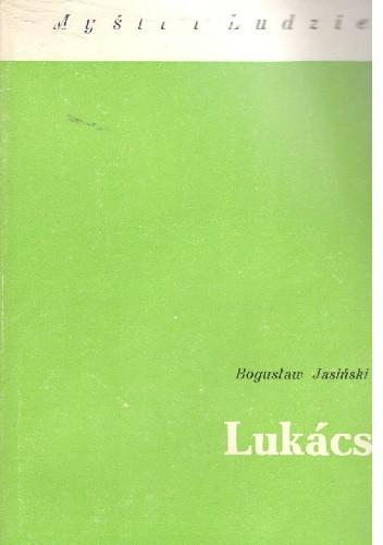Okładka książki Lukács