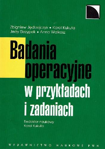 Okładka książki Badania operacyjne w przykładach i zadaniach