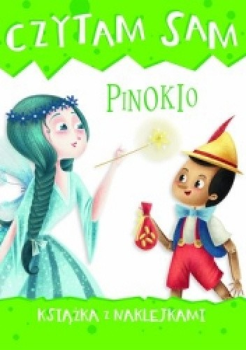 Okładka książki Czytam sam. Pinokio. Książka z naklejkami