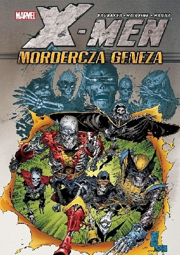 Okładka książki X-Men - Mordercza geneza