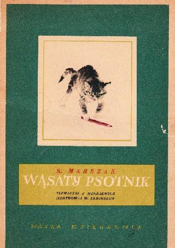 Okładka książki Wąsaty psotnik