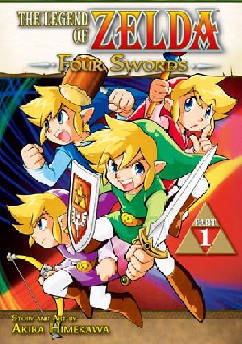 Okładka książki The Legend of Zelda: Four Swords