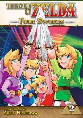 Okładka książki The Legend of Zelda: Four Swords 2