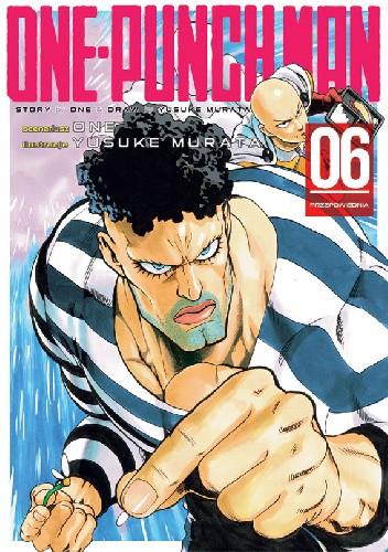 Okładka książki One-Punch Man tom 6 - Przepowiednia