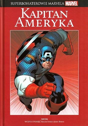 Okładka książki Kapitan Ameryka: Wojna i pamięć
