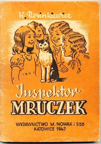 Okładka książki Inspektor Mruczek