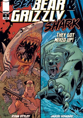 Okładka książki Sea Bear & Grizzly Shark (They Got Mixed Up, #1)