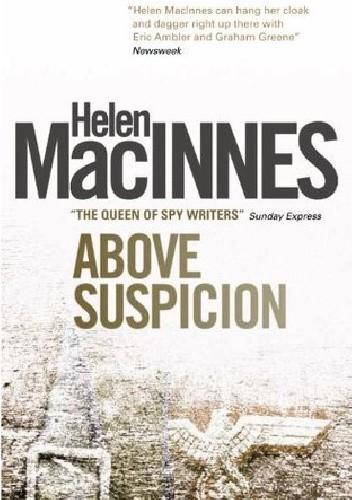 Okładka książki Above Suspicion