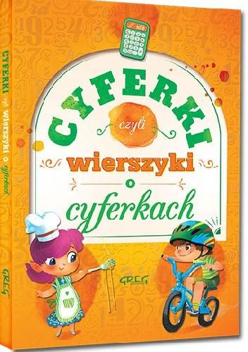 Okładka książki Cyferki, czyli wierszyki o cyferkach