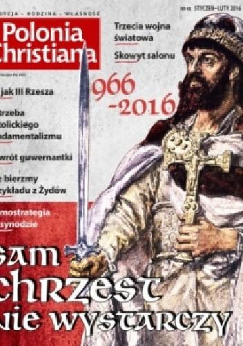 Okładka książki Polonia Christiana styczeń-luty 2016