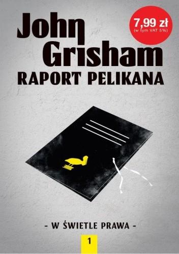 Okładka książki Raport pelikana