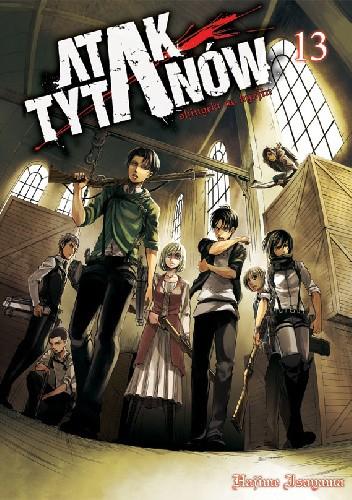 Okładka książki Atak tytanów tom 13