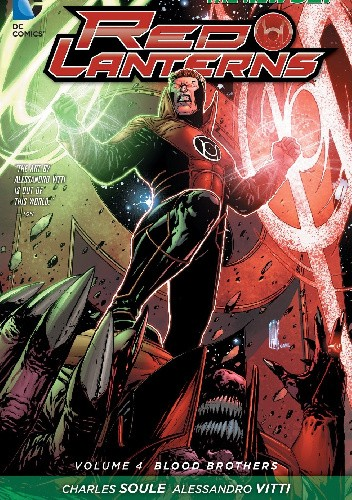 Okładka książki Red Lanterns Vol 4: Blood Brothers