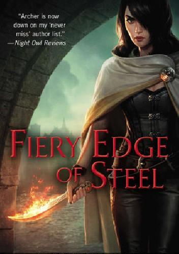 Okładka książki Fiery Edge of Steel