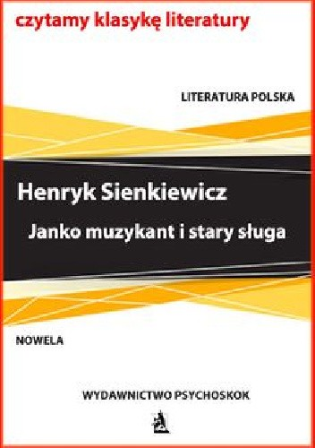 Okładka książki Janko muzykant i stary sługa