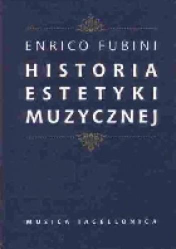 Okładka książki Historia estetyki muzycznej