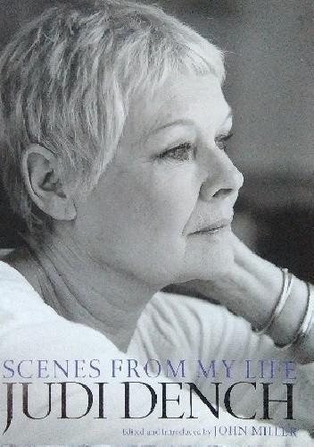 Okładka książki Judi Dench. Scenes from My Life
