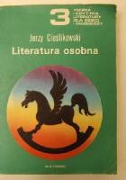 Literatura osobna