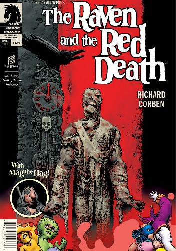 Okładka książki Edgar Allan Poe's The Raven and the Red Death