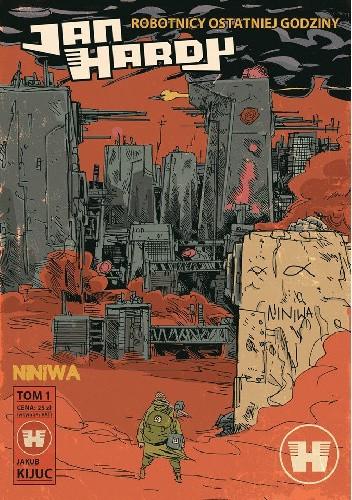 Okładka książki Jan Hardy tom 1 - Niniwa