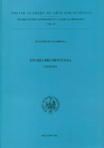 Okładka książki Studia Prudentiana. 12 Essays