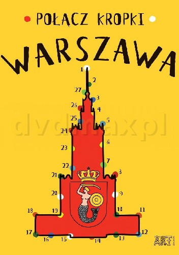 Okładka książki Połącz kropki. Warszawa