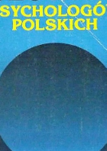 Okładka książki Słownik psychologów polskich