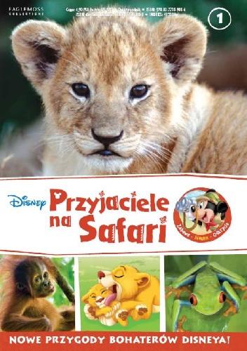 Okładka książki Przyjaciele na Safari. Lwiątka. Orangutany. Rzekotka czerwonooka.