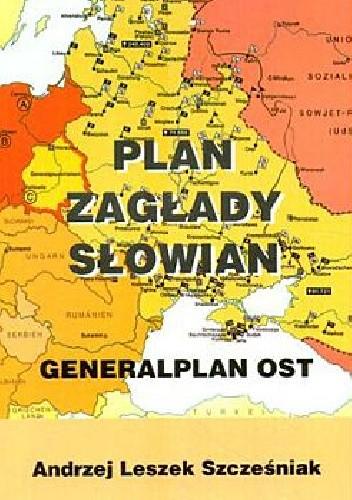 Okładka książki Plan zagłady Słowian