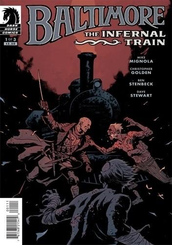 Okładka książki Baltimore: The Infernal Train #1