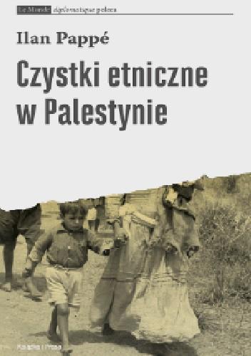 Okładka książki Czystki etniczne w Palestynie