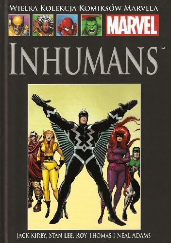Okładka książki Inhumans