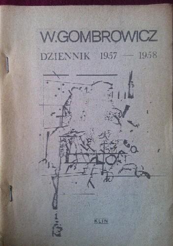 Okładka książki Dziennik 1957–1958