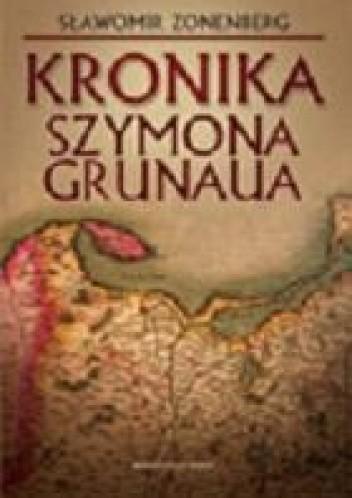 Okładka książki Kronika Szymona Grunaua