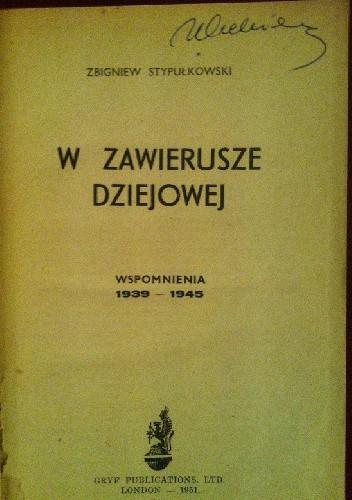Okładka książki W zawierusze dziejowej