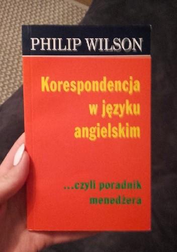 Okładka książki Korespondencja w języku angielskim