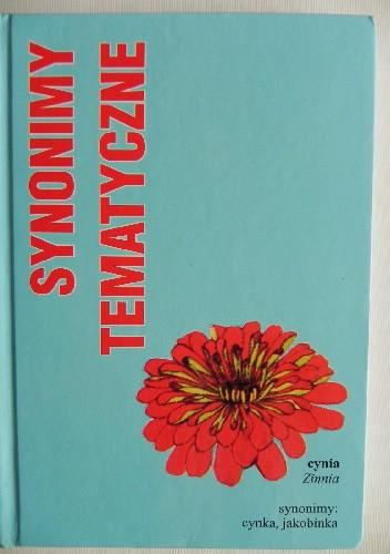 Okładka książki Synonimy tematyczne