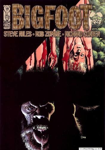 Okładka książki Bigfoot #4