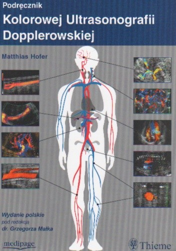 Okładka książki Podręcznik kolorowej ultrasonografii dopplerowskiej