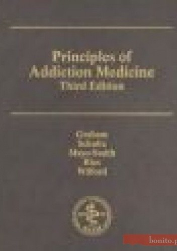 Okładka książki Principles of Addiction Medicine