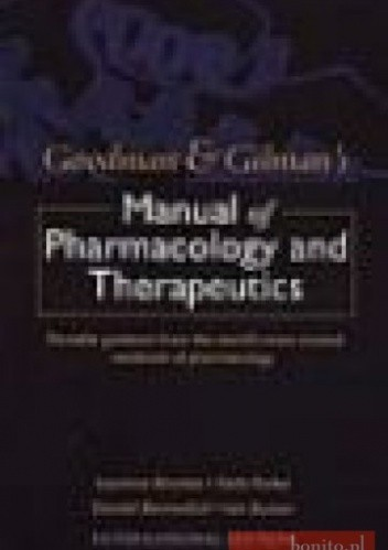 Okładka książki Goodman &&& Gilman's Manual of Pharmacology &&& Therapeutics