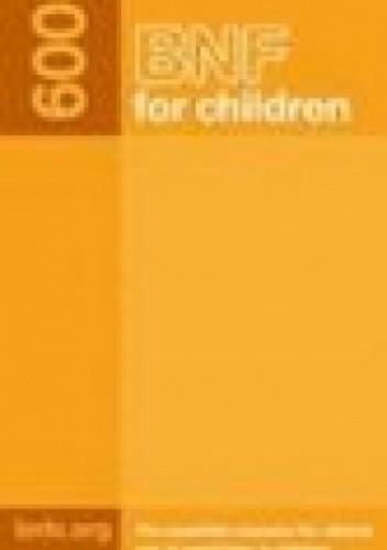 Okładka książki BNF for Children 2009
