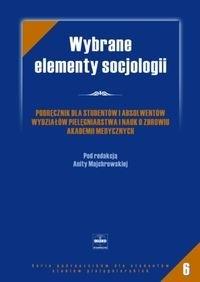 Okładka książki Wybrane elementy socjologii
