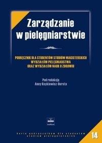 Okładka książki zarządzanie w pielęgniarstwie