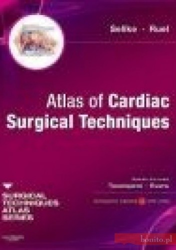 Okładka książki Atlas of Cardiac Surgical Techniques
