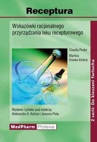 Okładka książki Receptura. Wskazówki racjonalnego przyrządzania leku recepturowego